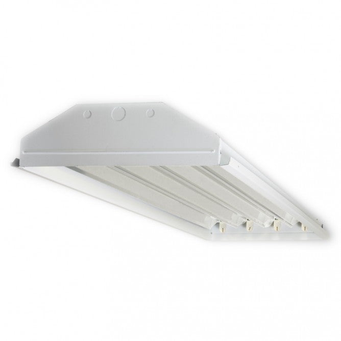 4 Lamp T8 LED Ready High Bay - Single End Wired - No Lamps