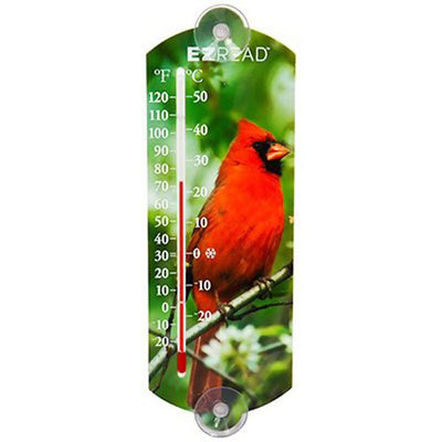 E-Z Read Cardinal Window Thermometer