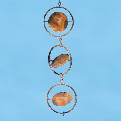 Circles Flamed Hanging Ornament 48 inch