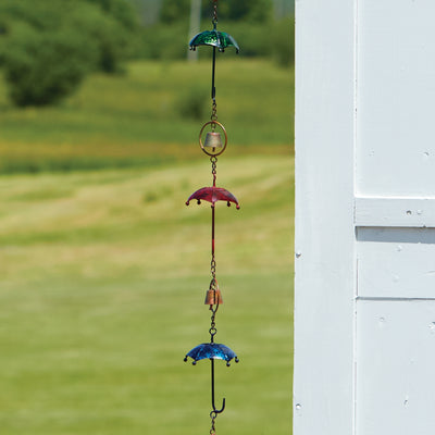Umbrellas Multicolor Rain Chain 92 inch