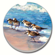 Sandpipers Car Coaster - Momma's Home Store