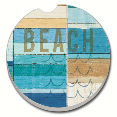Beachscape Car Coaster - Momma's Home Store