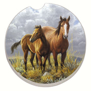Horses Car Coaster - Momma's Home Store