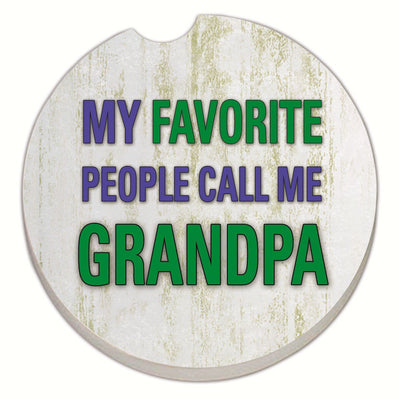 Grandpa Car Coaster - Momma's Home Store