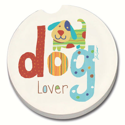 Dog Lover Car Coaster - Momma's Home Store
