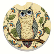 Wise Owl Car Coaster - Momma's Home Store