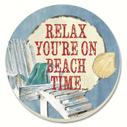 Beach Time Coasters Set of 4 - Momma's Home Store