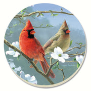 Beautiful Songbirds Cardinals Coasters Set of 4 - Momma's Home Store