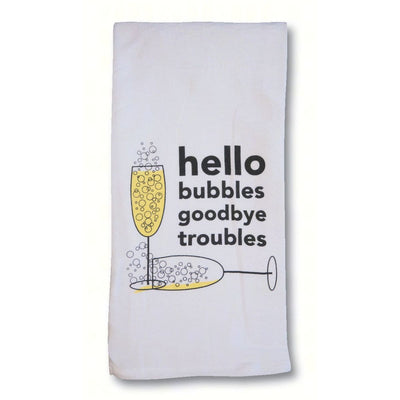 Goodbye Troubles Bar/Kitchen Towel