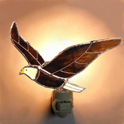 Bald Eagle Stained Glass Night Light
