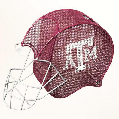 Texas A and M Helmet Cork Cage and Wine Bottle Holder - Momma's Home Store