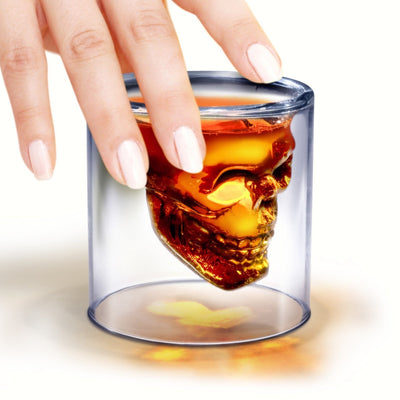Doomed Skull Shot Glass - Momma's Home Store