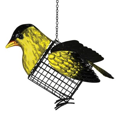 Goldfinch Suet/Seed Cake Bird Feeder