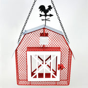 Barn Mesh Suet/Seed Bird Feeder