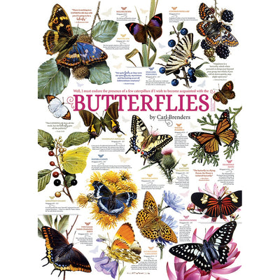 Butterfly Collection 1000 Piece Puzzle
