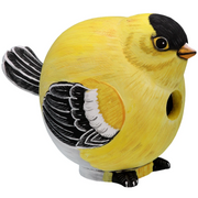 Goldfinch Gord-O Wooden Birdhouse