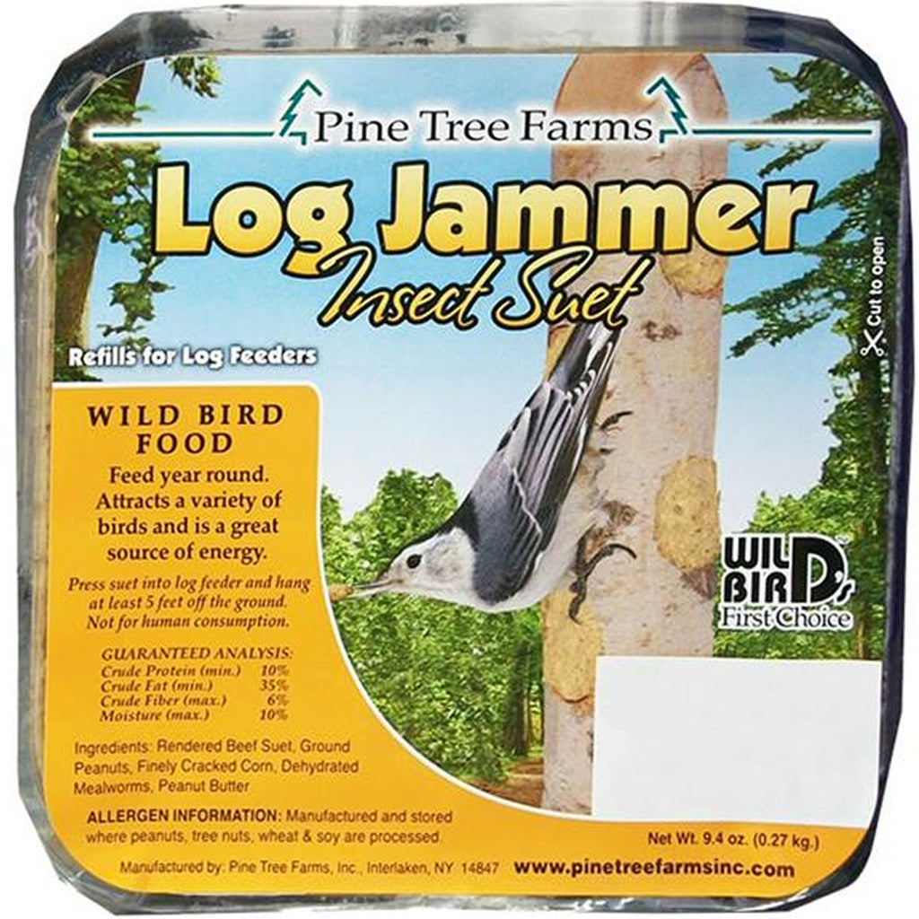 Log Jammer Insect Suet Plugs 9.4 oz - 3 pks