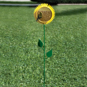 Sunflower Garden Stake Bird Feeder