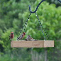 Hanging Platform Bamboo Bird Feeder - Momma's Home Store