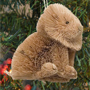 Lion Bristle Brush Ornament