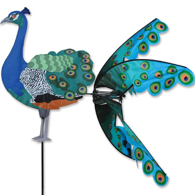 Flying Peacock Wind Spinner 37 inch