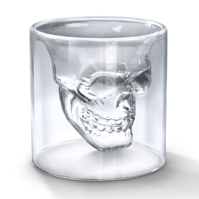 Doomed Skull Shot Glass 2 oz