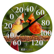 Cardinals E-Z Read Thermometer 12.5 inch