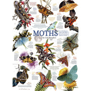 Moth Collection 1000 pc Puzzle