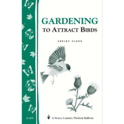 Gardening to Attract Birds Wisdom Bulletin