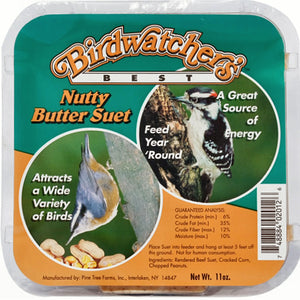Nutty Butter Suet 11 oz - 3 pack