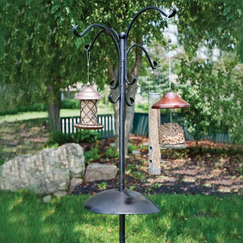 Deluxe Four Way Bird Feeding Station 85 inch