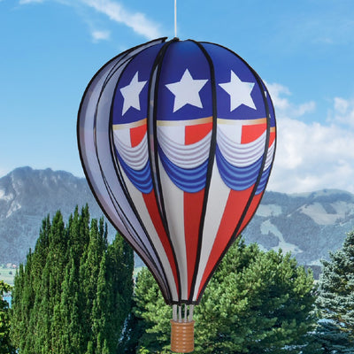 Celebrating Freedom Hot Air Balloon Spinner 22 inch