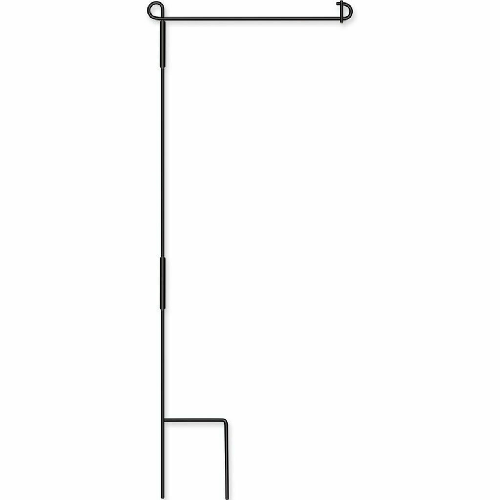 Collapsible Reinforced Garden Flag Pole