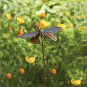 Butterfly Flamed Ornament Garden Stake