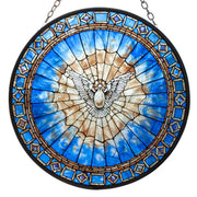 Holy Spirit Dove Stained Glass Suncatcher