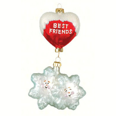 Best Friends Snowflakes Ornament