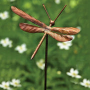 Dragonfly Flamed Ornament Garden Stake