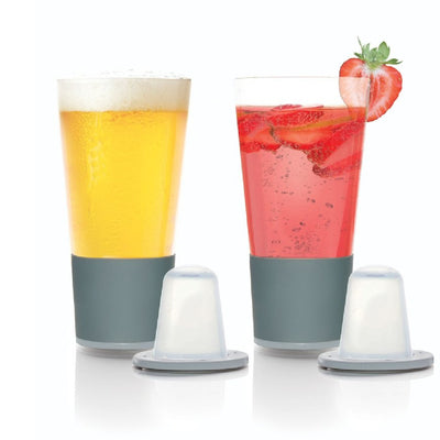 Dimple Self Chilling Pint Glasses Set of 2