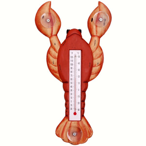 Red Lobster Window Thermometer Small