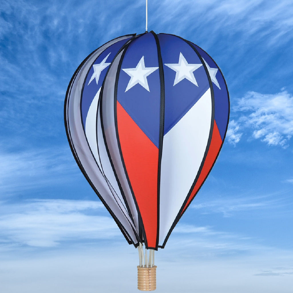 Patriotic Hot Air Balloon Spinner 26 Inch Momma S Home Store