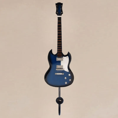 SG Electric Guitar Wall Hook Blue