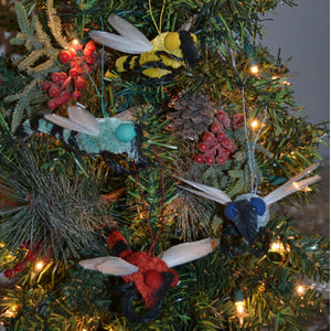 Dragonfly Buri Bristle Ornament Assorted