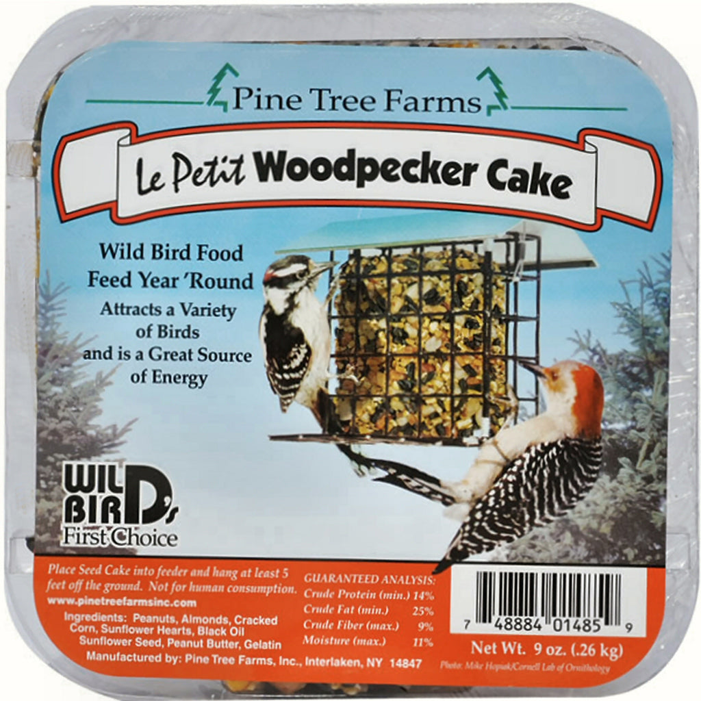 Le Petit Woodpecker Cake 9 oz - 3 pack