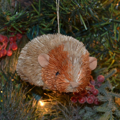 Guinea Pig Bristle Brush Ornament