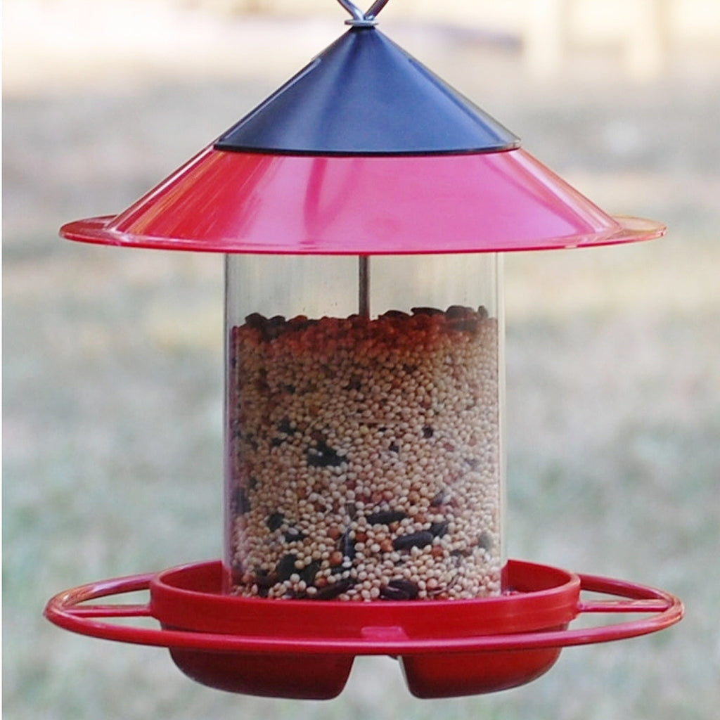 EZ-Fil Bird Feeder Green/Red - Momma's Home Store