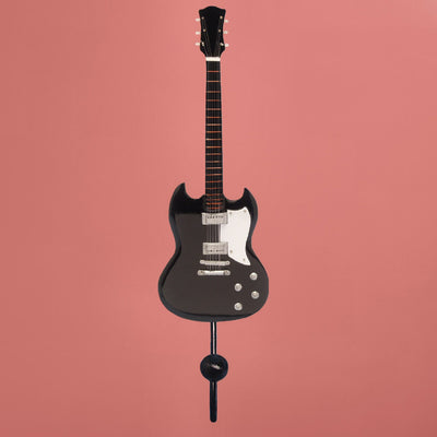 SG Electric Guitar Wall Hook Black