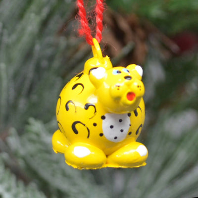Leopard Marble Ornament