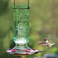 Vintage Hummingbird Feeder 20 oz