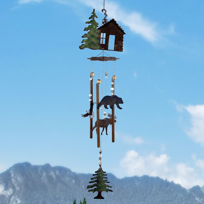 Wilderness Cabin Fever Wind Chime