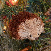 Hedgehog Bristle Brush Ornament